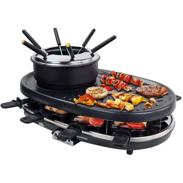 Raclette-Grill Appenzell mit Fondue