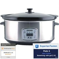 6,5 Liter Digitaler Slow Cooker mit Timer